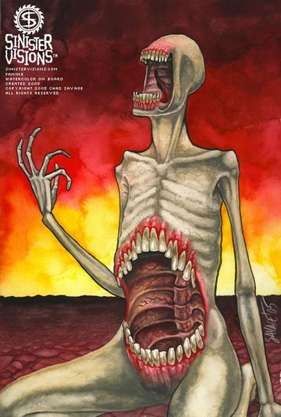 Fome, doenças e morte