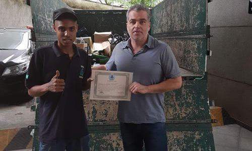 Empresa Predicta, destinou lixo eletrônico à ONG Eco Digital