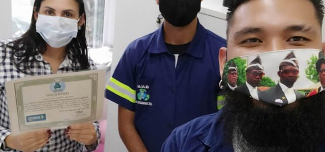 Retirada na região central de São Paulo na Empresa EALOG GROUP